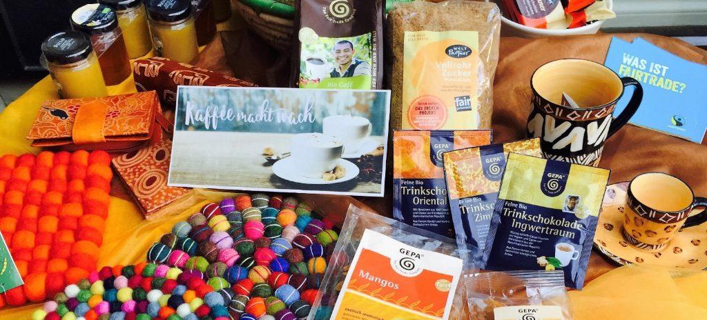 Faire Produkte im Weltladen Hofheim