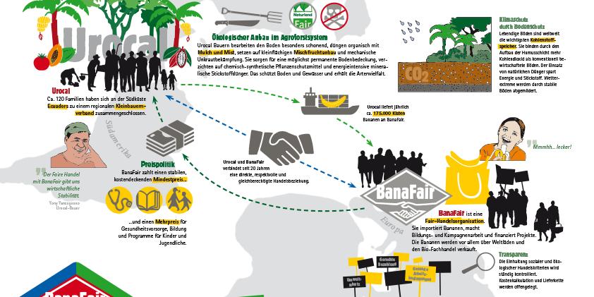 Berühmt Bio & Fair - Woher kommen unsere Bananen? - Weltladen Mannheim #ZD_21