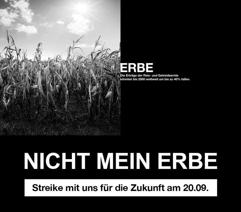 Globaler Klimastreik am 20.9.
