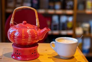 Buchcafe Teekanne
