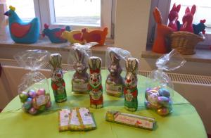 Faire Schokoladen-Osterhasen