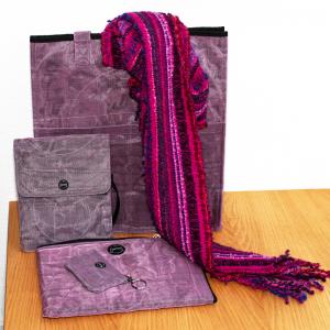 Tasche lila