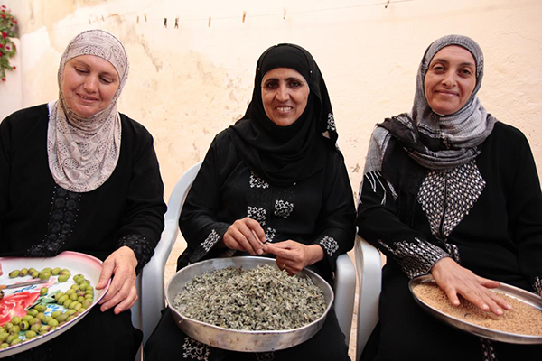 Mitglieder einer Frauenkooperative